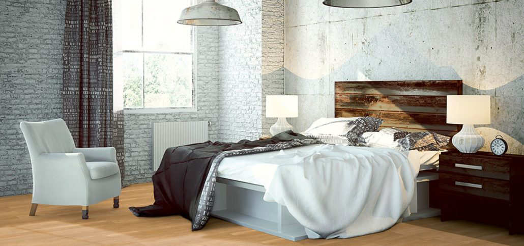 Bild Objectflor Designbelag im Schlafzimmer