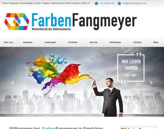 Bild Startseite Fangmeyer WOTEX Onlinekit