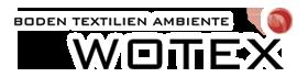 Wotex logo freigestellt weiß hinterlegt